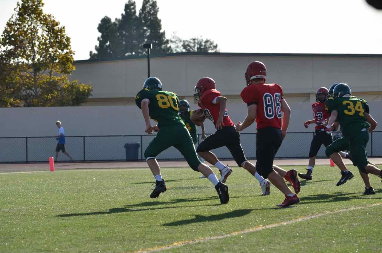 Monte Vista Vs Castro Valley Football